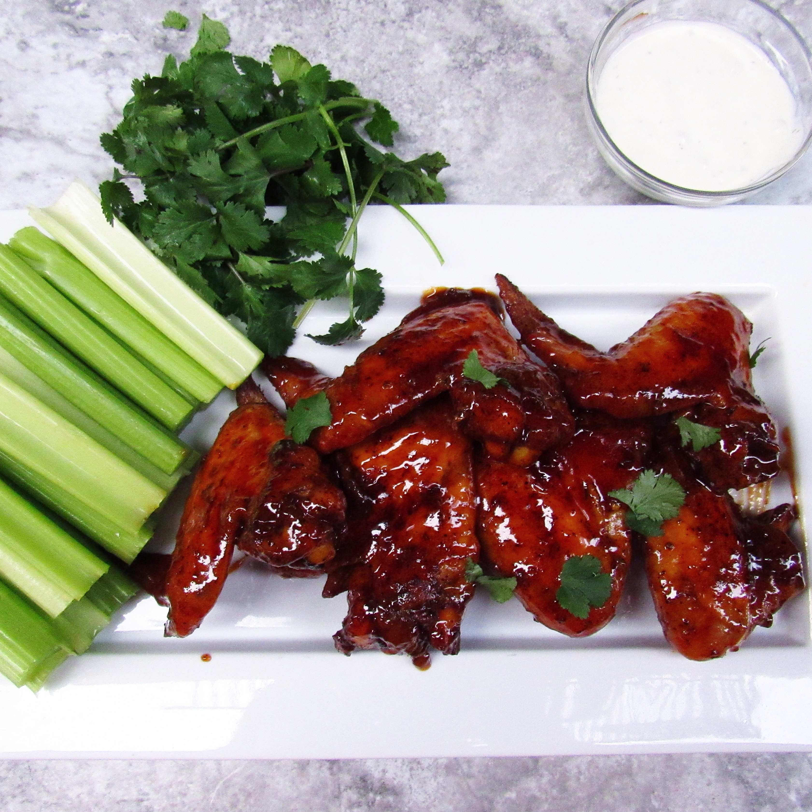 how to make honey hot wings