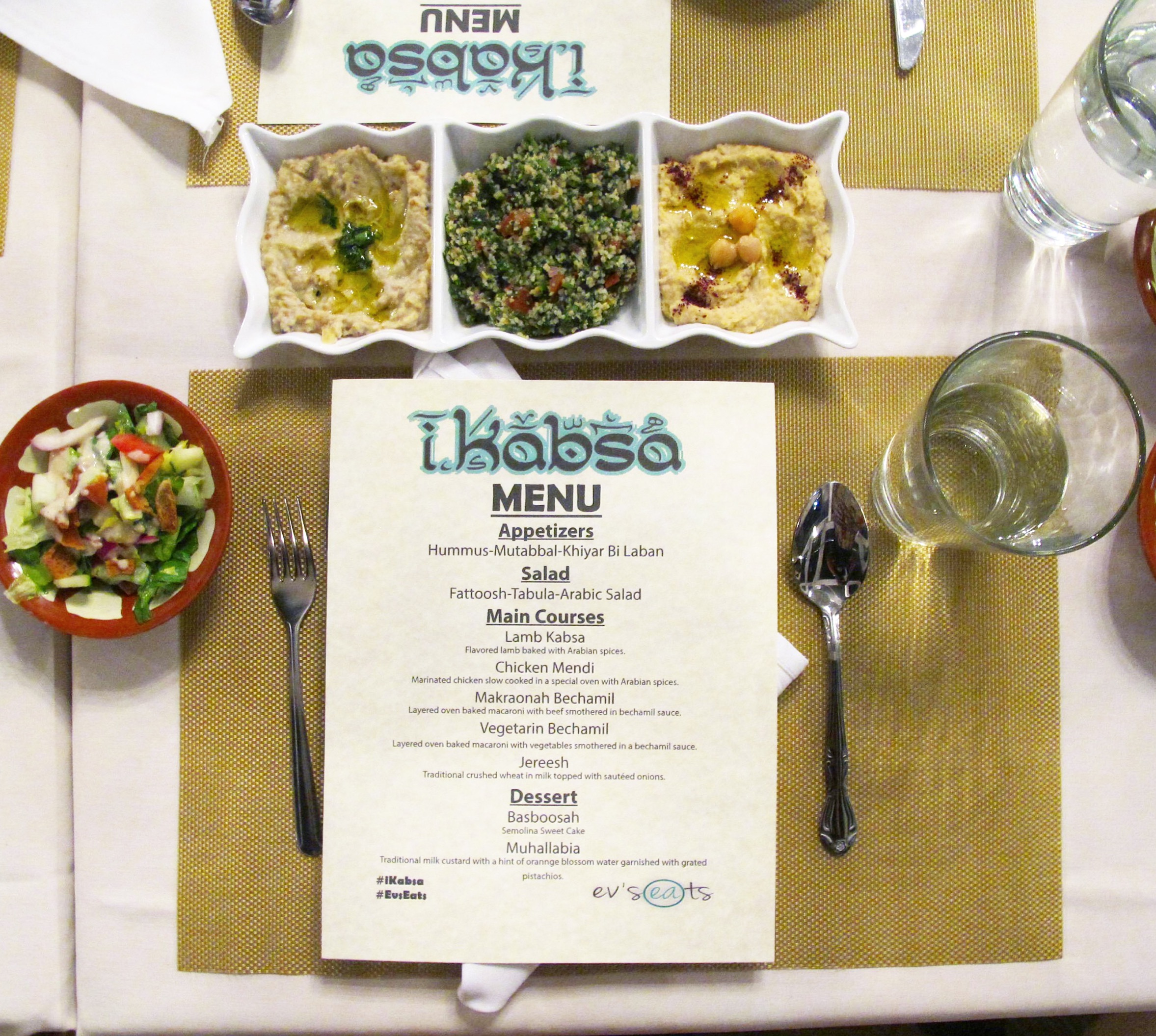Ikabsa saudi arabian cuisine comes to hollywood evs eats forumfinder Choice Image