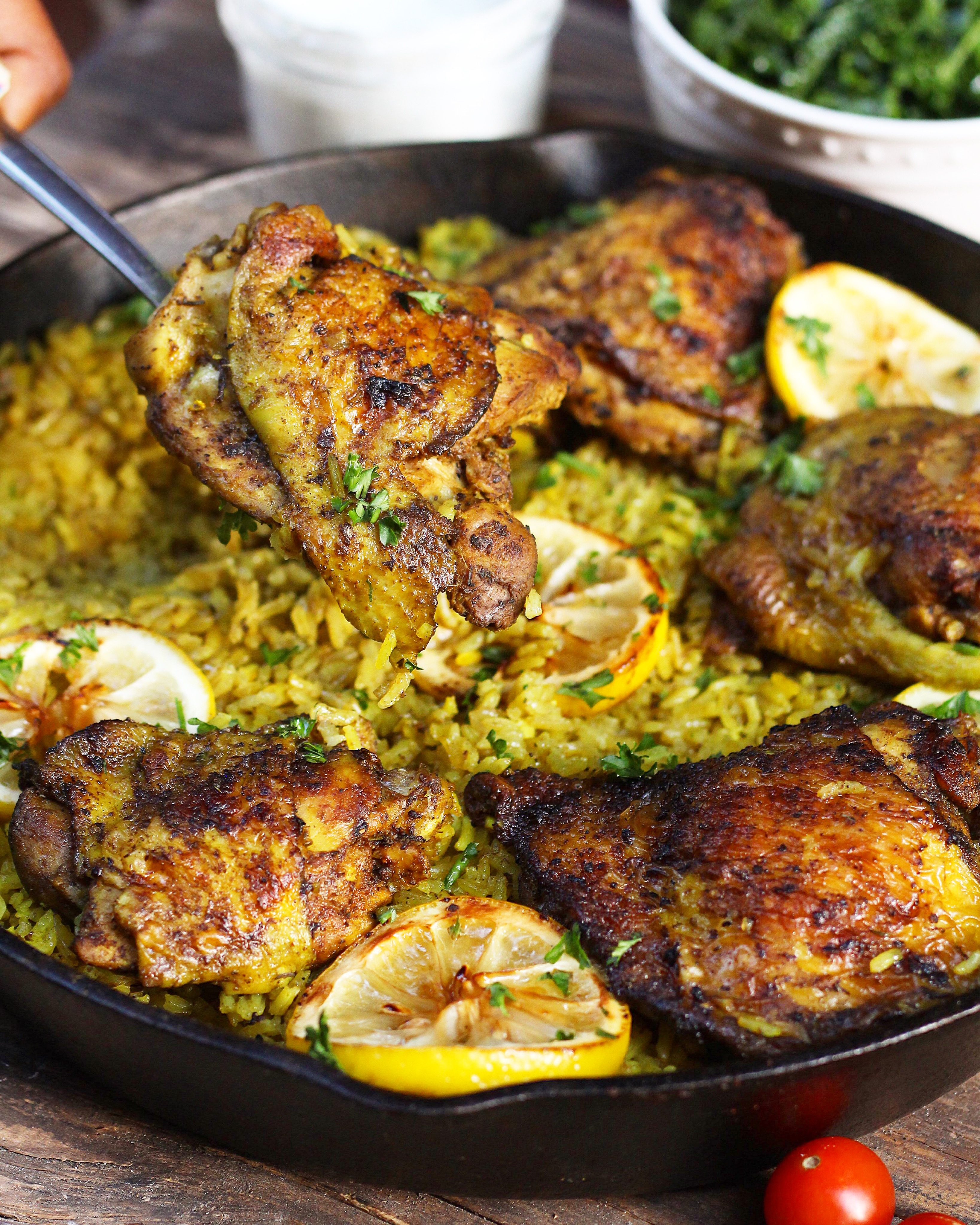 One pot middle eastern chicken and rice evs eats forumfinder Image collections